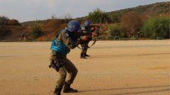 中国维和工兵分队组织首次实弹射击训练