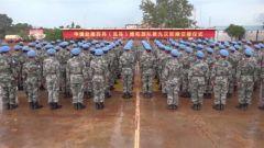 中国蓝盔:和平之师 体现负责任大国担当