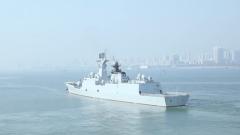 火力全开 海军某舰艇训练中心多兵种联训考核舰艇战斗力