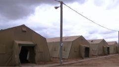 """探访俄""""高加索-2020""""战略演习中方部队营地:自主搭建 联合指挥部设施完备"""
