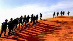 武警甘肃总队武威支队组织开展陌生地域实战化极限训练