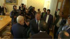 俄伊外长举行会晤 两国重申坚决抵制美国对伊单边制裁