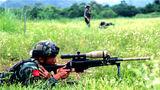 狙击枪实弹射击训练