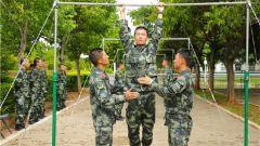 新兵入营首次体能考核 摸清底数激发训练活力