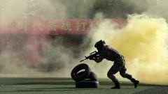 戰味十足,直擊戰略支援部隊某部軍事體育運動會