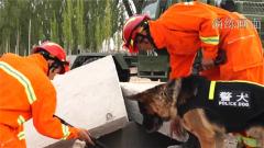 武警新疆总队某支队开展专业救援演练