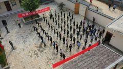 火箭軍某部開展烈士紀念日活動暨理想信念教育基地掛牌儀式