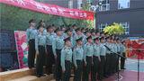 第二支参赛队伍演唱《人民军队忠于党》《不忘初心》