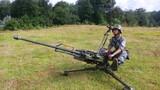 高射机枪对空警戒