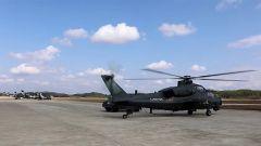 【祖國 我在戰位守護您】粵北某地 武裝直升機緊急升空