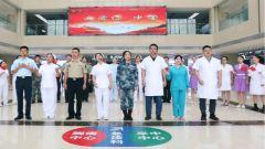 西部戰區總醫院快閃:《我愛你中國》