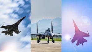 【军视界】霸气出击!直击战机跨昼夜飞行训练现场