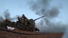 【直擊演訓場】西北戈壁 多種火器編織高效火力防空網