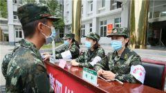 把好健康關!武警四川總隊醫院醫療隊嚴密組織新兵體格復檢