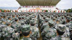 开训即开战!陆军第75集团军某新兵团举办开训动员大会