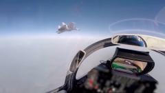 【直擊演訓場】空中對抗 殲-15艦載戰斗機研練戰術突防