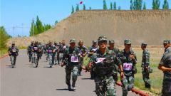 人人有赛场 岗岗有比拼:新疆军区某边防团开展达标升级活动
