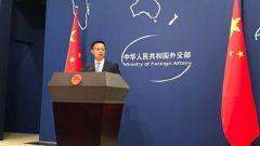 外交部:敦促美立即取消任何對臺軍售計劃
