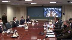 韩媒:韩美防长记者会被取消