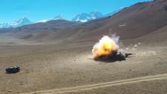 【直擊演訓場】海拔4700米 西藏軍區某合成旅拔點戰斗演練