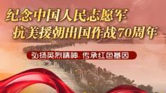 紀念中國人民志愿軍抗美援朝出國作戰70周年主題展覽VR網上展館在中國軍視網上線