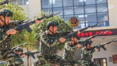 """武警来宾支队:金秋十月练兵忙 铸就打赢""""硬拳头"""""""