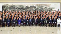 習近平會見全國雙擁模范城(縣)命名暨雙擁模范單位和個人表彰大會代表 李克強參加會見并在表彰大會上講話