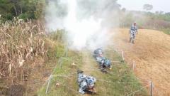 空軍工程大學組織新學員實戰化訓練