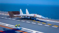 """殲-15""""飛鯊"""":刀尖起舞 捍衛海天"""
