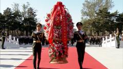 紀念中國人民志愿軍抗美援朝出國作戰70周年敬獻花籃儀式隆重舉行