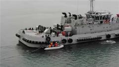 北部戰區海軍某油料技術保障大隊開展油料補給演練