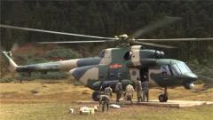 西藏墨脫:海拔4000米雪山峽谷 直升機助力運送過冬物資