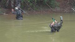 牽引橫越頻頻失誤 他們該如何避免橫越中觸水?