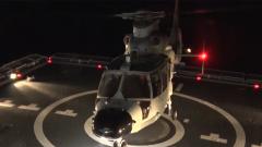 海軍某艦載直升機團:大強度高難度錘煉艦載雄鷹
