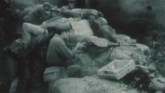 火力兇猛!一級英雄孫占元和他的捷格加廖夫機槍