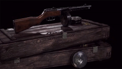抗美援朝功勛裝備:國產50式沖鋒槍