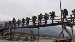 陸軍第77集團軍某旅:特戰隊員連續60小時多課目考核