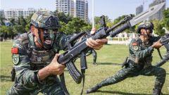 武警北海支队:立冬时节练兵忙 争分夺秒强本领