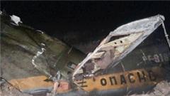 俄军一架直升机被阿塞拜疆军方击毁