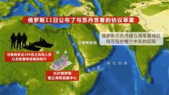 俄羅斯將在蘇丹建立海軍基地