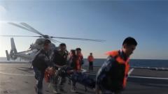 海軍第36批護航編隊組織??樟Ⅲw搜救與后送救治演練