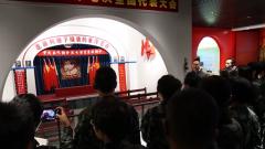 武警云南总队医院组织全院官兵展开党史党性参观见学活动