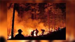 老兵親歷大興安嶺火災 消防隊員迎著火沖出火海