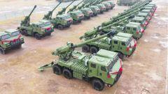新型155毫米車載加榴炮列裝陸軍第83集團軍某旅