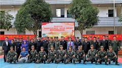 廣西崇左:國防教育宣講進軍營