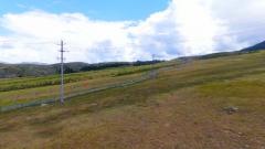 全軍500多個邊防哨所連通國家大電網