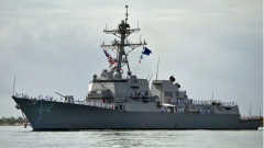 美海军一艘导弹驱逐舰暴发大规模疫情