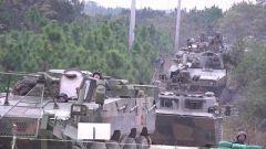陆军第72集团军:红蓝实兵对抗 磨砺合成作战本领