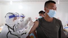 中國第24批赴剛果(金)維和官兵接種埃博拉疫苗
