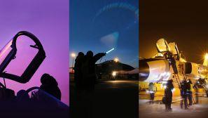 【軍視界】駕鷹攬月戰星空!精美壁紙帶你看海軍航空大學某團夜訓